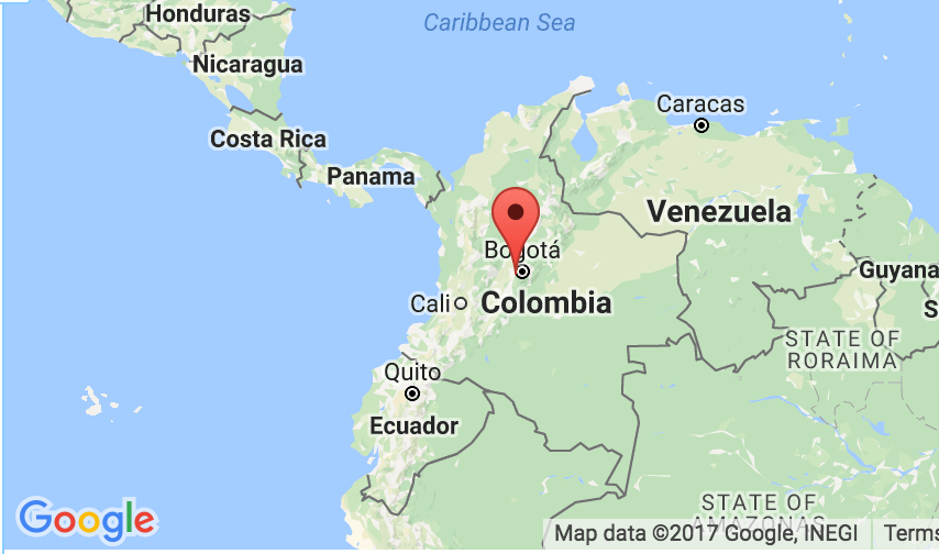 Colombia Map Motorcycle Rentals